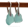 Genuine Beach Found Sea Glass Earrings. This is the EXACT pair you will receive!