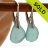 SOLD - Sorry these Rare Sea Glass Earrings are NO LONGER AVAILABLE!