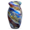 Through much research, we believe these amazing multi color sea glass pieces to the the remnants of the Hartley and Wood Art Glass Company See our Blog Post James Hartely-Glass