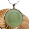 STUNNING HUGE Apothecary Stopper in Seafoam Green Sea Glass in a Deluxe Pattern Wire Bezel in Silver!
