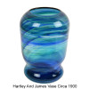 An example of a Hartley and Wood vase circa 1890 that may have been the intended end product for this glass.