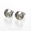 These cute solid sterling sandollar post earrings are included.