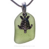 This the EXACT Sea Glass Necklace Pendant you will receive!