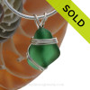 Sorry this custom sea glass jewelry piece is NOT AVAILABLE!