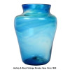 It has been verified by an art glass historian in England that these amazing sea glass pieces are indeed the remnants of art glass from the Hartley and Wood factories.