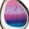 You can see the intense but subtle mixture of colors in this sea glass earring.