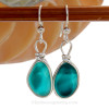 Our Original Wire Bezel© setting lets all the beauty of these beauties shine!  SOLD - Sorry these Sea Glass Earrings are NO LONGER AVAILABLE