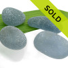 This lot of sea glass from Seaham England has been sold!