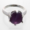 This is not the color changed purple but a natural deep purple.