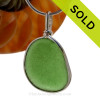 Custom Supplied Sea Glass Jewelry Work - Reserved For Nathan