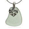 This is the EXACT Sea Glass Necklace and chain you will receive!