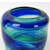 This piece has been certified to have originated from a Hartley and Wood Streaky vase made over 100 years ago and discarded into the North Sea.