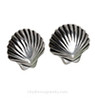 Choose a pair of matching Sterling Shell Post Earrings