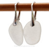 This is the exact pair of sea glass earrings you will recieve!