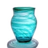 A Victorian Era Hartley and James Streaky vase the proven source of this amazing sea glass.
