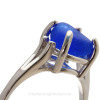 A detail of this EXACT ring shows you how perfect the sea glass fits.