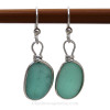 This is the EXACT Pair of rare sea glass earrings you will receive!