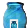 An Example of an antique Hartley Wood Vase circa 1880 that was been verified to have been the source of this amazing sea glass.