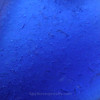 Smaller Cobalt Blue Genuine Rare Sea Glass Pendant In Sterling Original Wire Bezel©