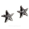 Add a pair of solid sterling stud earrings to complete a beachy set!