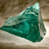 Slag or cullet glass is the source of this amazing thick and perfect sea glass.