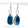 These are the EXACT pair of rare Seaham Sea Glass Earrings that you will receive!