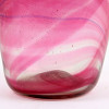 A Hartley Wood  1800's streaky glass vase, the verified source of this amazing naturally colorful sea glass.