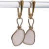This is the EXACT pair of Rare Sea Glass Earrings that you will receive!