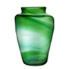 An example of an late 1800's Hartley Wood Vase the verified source of this amazing colorful sea glass.