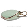 A side view of this exact Sea Glass Jewelry piece showing you the thickness of the glass and quality of the bezel work.