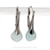 This is the EXACT pair of Genuine Sea Glass Earrings that you will receive!