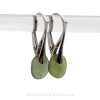 AVAILABLE - This is the EXACT pair of  beach found Sea Glass Earrings you will receive!