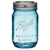Many Sea Glass Pieces of this color started out as Mason Ball Jars used to preserve food for many decades.