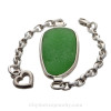 This is the EXACT Sea Glass Bracelet you will receive!