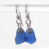 Simple and elegant these sea glass earrings are bound to get you compliments!