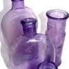 """Purple or Lavender sea glass is a type of glass that changes color over time. Sometimes called """"sun glass"""" this sea glass chameleon contains Manganese, which over time turns the originally greenish white glass shades of purple."""
