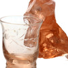 Peach depression era glass was ONLY used in housewares and is therefor rare.