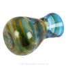 Tropicale Modern Art - ULTRA RARE Mini Multi Sea Glass Necklace Pendant In S/S Original Wire Bezel©