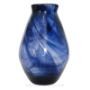 An example of a Hartley Wood Streaky Glass vase , the verified source of this amazing sea glass.