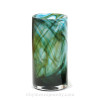 An example of a Hartley Wood Vase circa 1900, that is the verified source of this amazing colorful sea glass.