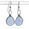 AVAILABLE - This is the EXACT pair of Rare Sea Glass Earrings you will receive!