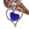 A great off center heart in heart design.