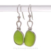 This is the EXACT pair of Rare Genuine Sea Glass Earrings you will receive!