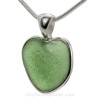 Sea glass hearts are a natural occurrence but very rare.