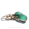 Thick and perfect size for sea glass earrings