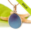 Sorry this English sea glass pendant has been sold!