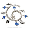 An awesome sea glass  bracelet that is guaranteed to get you compliments and looks of envy!