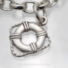 Beaches aho with then solid sterling silver ships float.
