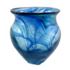 This is an example of a Hartley Wood Streaky vase circa 1888 that is the verified source of this amazing and colorful sea glass from Seaham England.