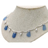 A stunning 18 inch necklace that is bound to get you noticed.
